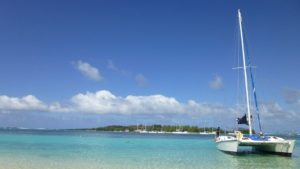 Catamaran, Navire À Voile, Navire, Mer, Vacances, Plage