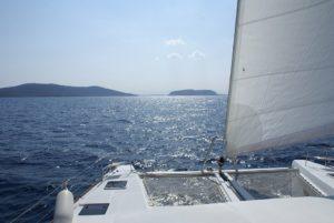Grèce, Voilier, Catamaran